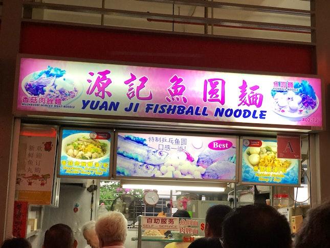 Fishball. Noodles