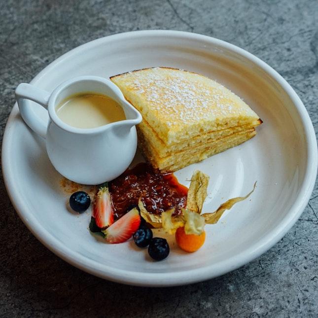 Kaya Pancakes, A Local Inspired Breakfast