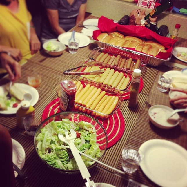 NYE Dinner with Fam!!
