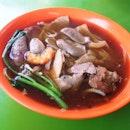 Mixed Pork & Prawn Noodles Soup