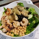 Prawn And Grilled Chicken Breast Salad