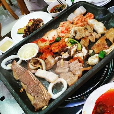 Awesome Danji Korean Bbq Buffet Burpple 3 Reviews Katong Interior Design Ideas Gentotryabchikinfo