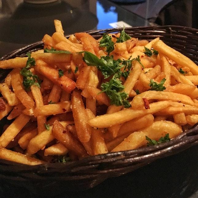Garlic Fries ($7.90)