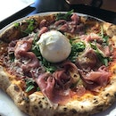 Parama Burrata Pizza ($36)