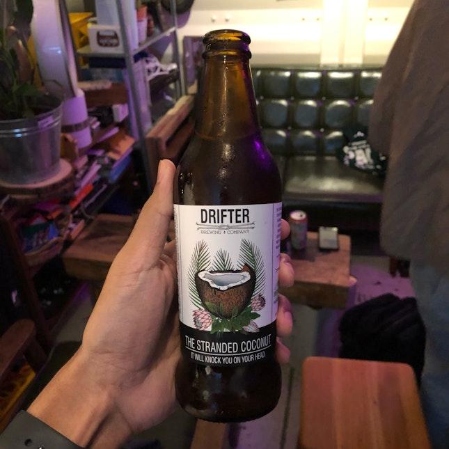 Drifters Coconut Ale ($12)