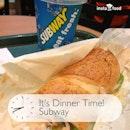 Having Turkey & Ham $5 Combo meal as dinner.