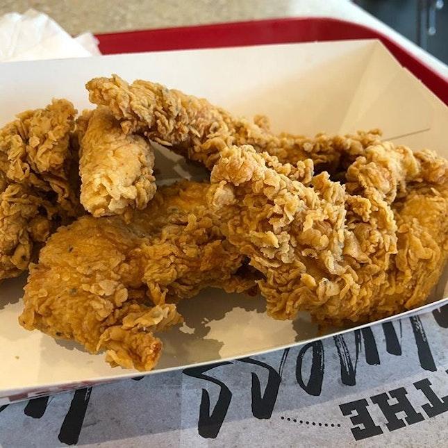 Enjoy 4pc Texas Chicken Tenders for $2 NTUC Plus!