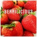 a berrilicious snack after a dip!