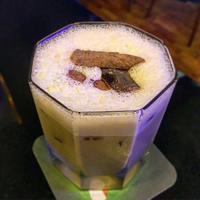 Romeo's Juliet • Old Fashioned Coffee • Ice Boozy Alkofee ($13.80 each)  Check this out; a coffee cocktail bar?!