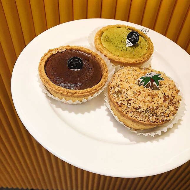 Pablo Mini Chocolate/Matcha/Kaya Tart ($4.20 Each) •HOSTED TASTING•