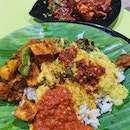 Nasi Padang (Price varies; $8 for what's in this photo)
