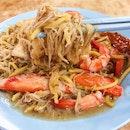 Yi Ji Fried Hokkien Mee ($5/$8).