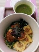 Thunder Tea Hakka Tofu Bowl