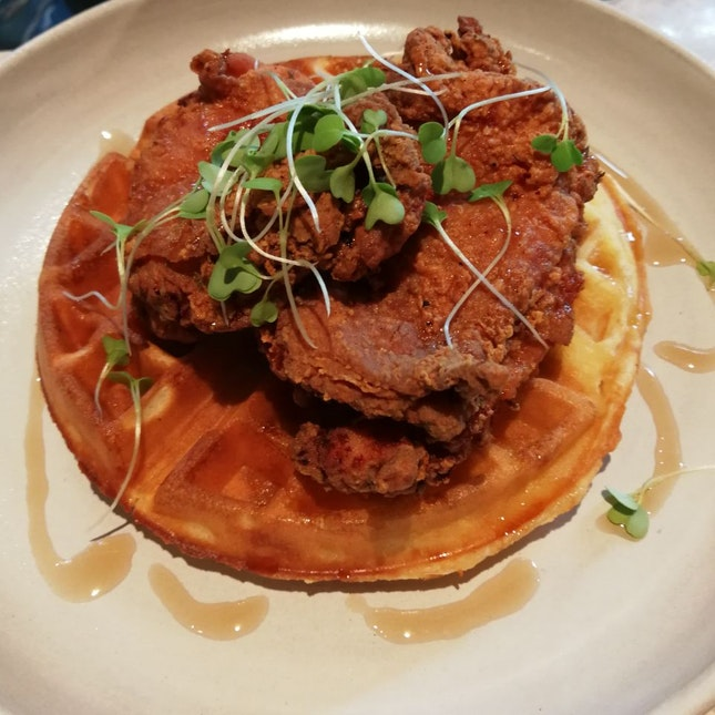 Fried Chicken Waffle