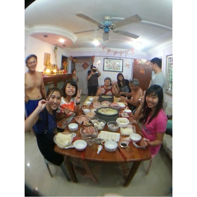 Annual Family Reunion Dinner!