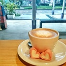 #latte with ♥  Praying that my fear will be taken away.
