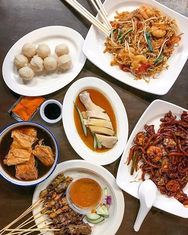 It should just be called West Malaysian Food Street instead.