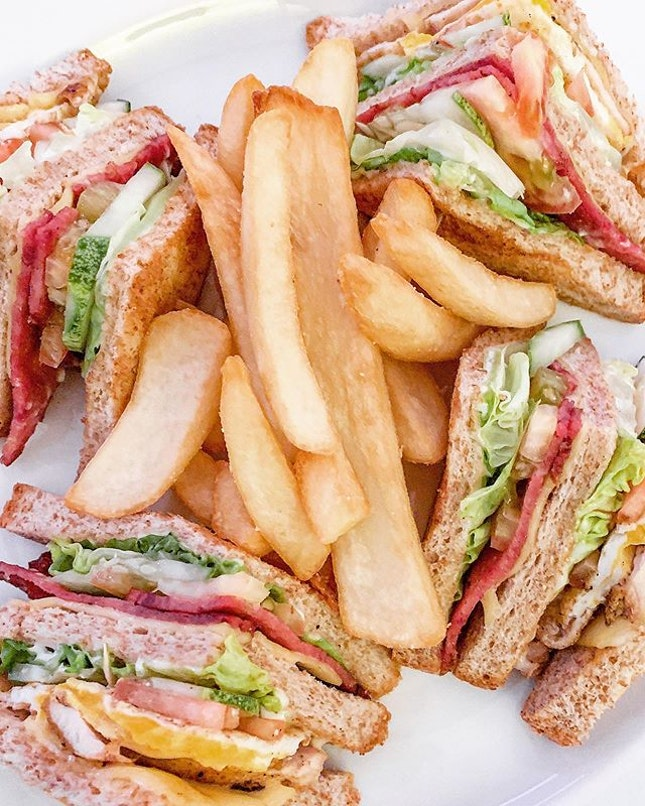 Do you know the measure of a decent hotel can be determined by the quality of its club sandwich?