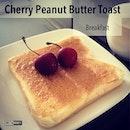 Moi Breakfast ☕🍞 #food #foodporn #foodstagram #foodphotographer #breakfast #brekkie #bread #cherry #InstaDaily #instaDailyApp