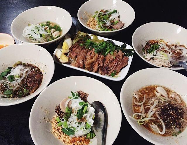🛶🍜🇹🇭 #AATeats #thailand #boat #noodles #burpple