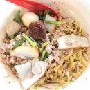Teochew Fishball Noodles ($3.50)