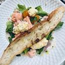 Poached Ocean Trout Niçoise