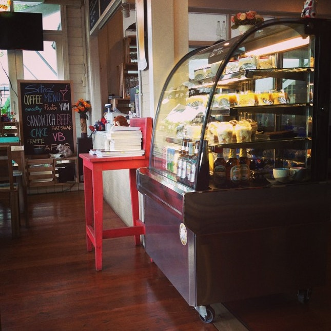 in the corner good view #sitne #cafe #thailand #nonthaburi #love #coffee #coffeelover #coffeeaddicted #coffeesech