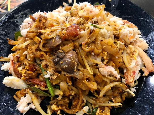 Crabmeat Char Koay Teow