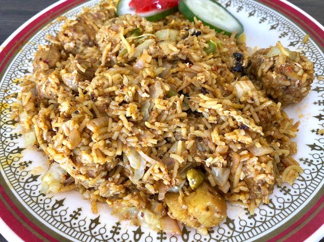 Pork Nasi Kandar Goreng