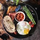AnythingAlsoEat - English Big Breakfast ~•~•~•~•~ #throwback to my last trip to Melaka.