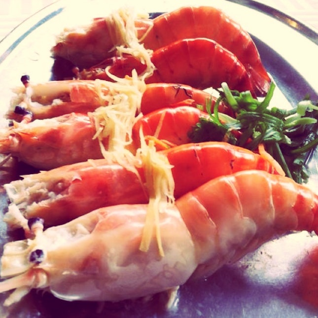 Big Head Prawn @Tanjong Tualang