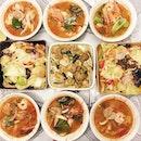 Thai tonight - Tom Yum Goong & Green Curry!
