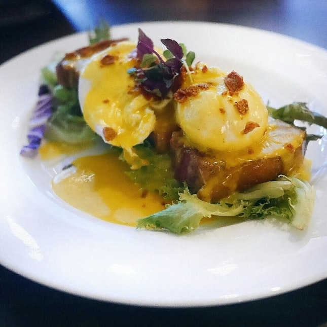 A Different Kind of Eggs Benedict!