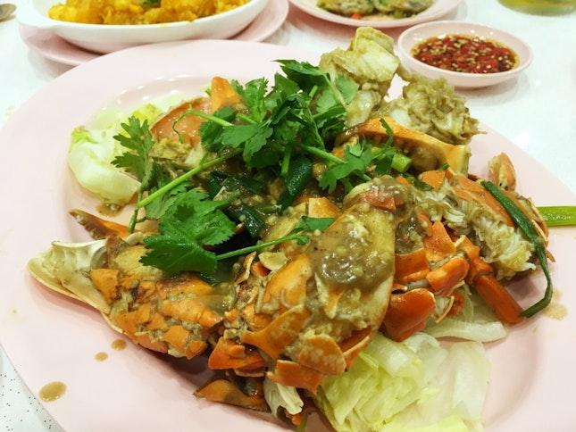 白胡椒螃蟹 White Pepper Crab