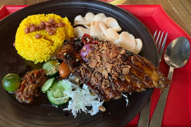 Balinese Grilled Pork Ribs