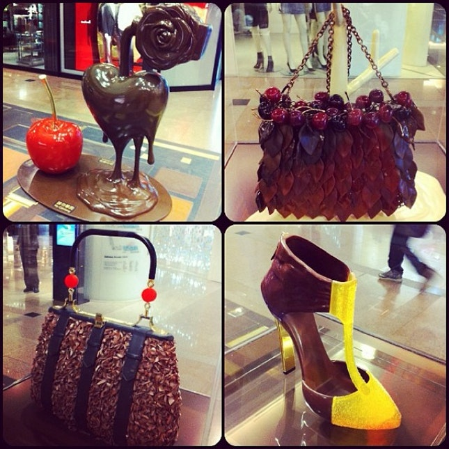Chocolate bags & shoes