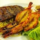 Love the grill prawns yumm😘