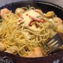 Seafood Olio 😋💦🍴