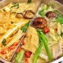 Laksa Chicken Steamboat