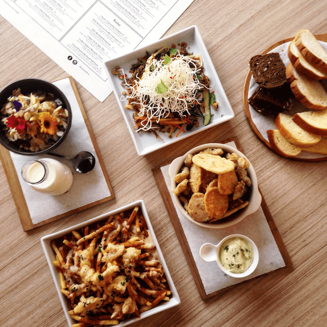 For New Dishes In A Feel-Good Cafe