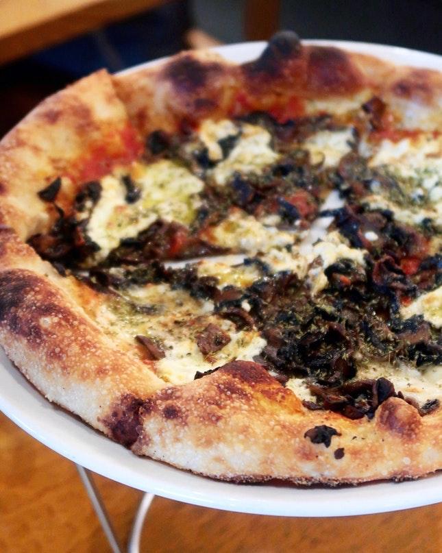 For Smokin' Good Pizzas in Marina Bay