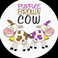 PurpleBrown Cow