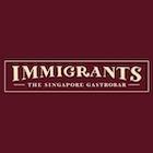 Immigrants - The Singapore Gastrobar